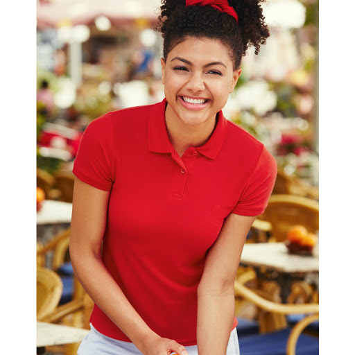 Fruit of the Loom Ladyfit Polo Shirt