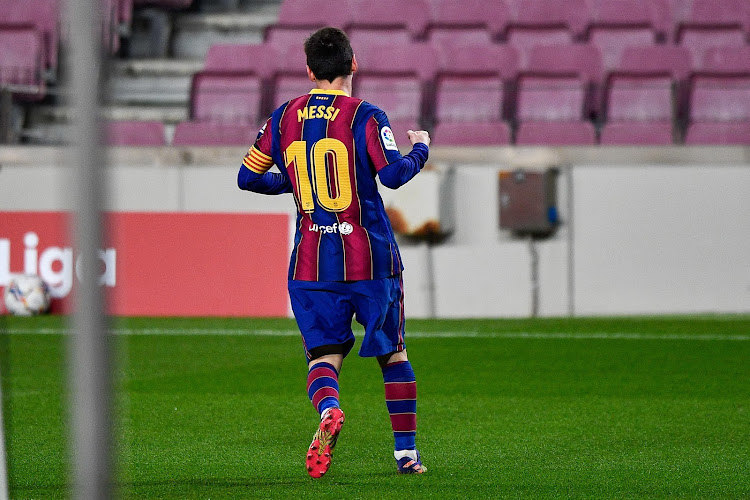 L'absence de Lionel Messi aura été de courte durée