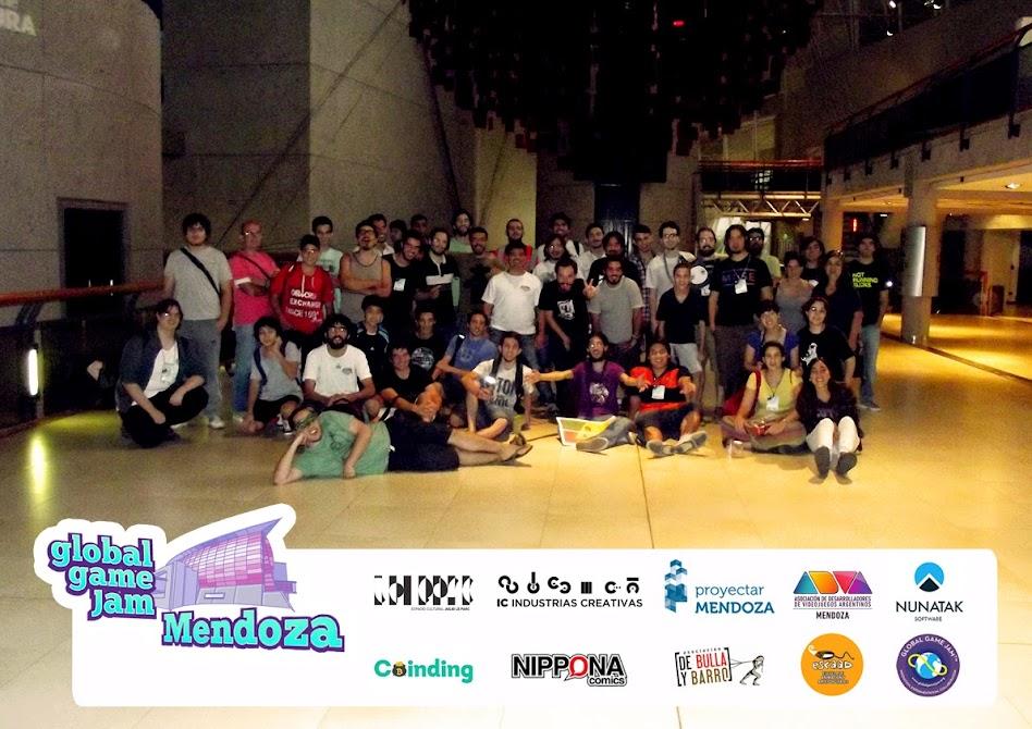 Algunos de los participantes de la GGJ 2015 realizada en el Espacio Cultural Julio Le Parc de Guaymallén (Mendoza)