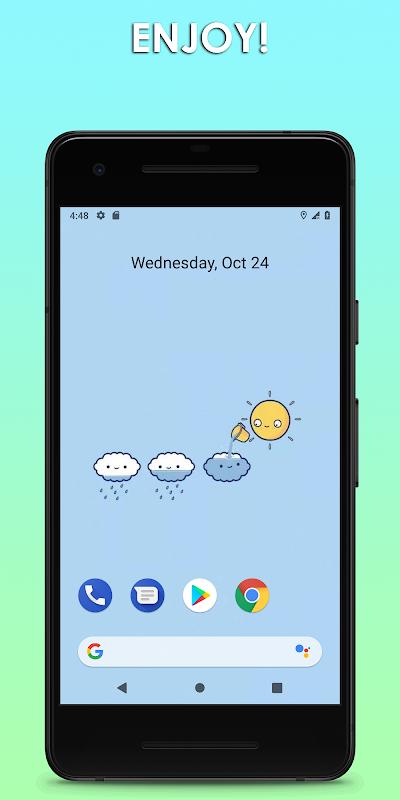 Cute Wallpapers 💜 Kawaii screenshots