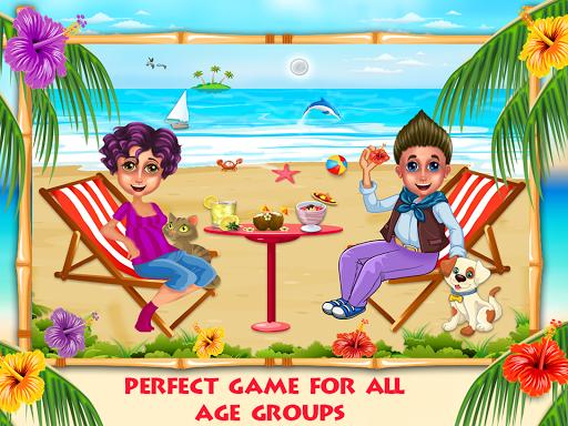 夏季饮料:海滩派对