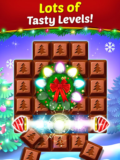Christmas Cookie - Santa Claus's Match 3 Adventure modavailable screenshots 10