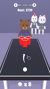 Beer Pong Screenshot
