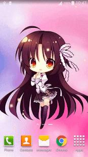 Anime Sich Mit Der Brandneuen Chibi Live Hintergrund Furs Handy Dies Ist Die Erste Und Sehr Speziellen Wallpaper Von Wenig Chibis
