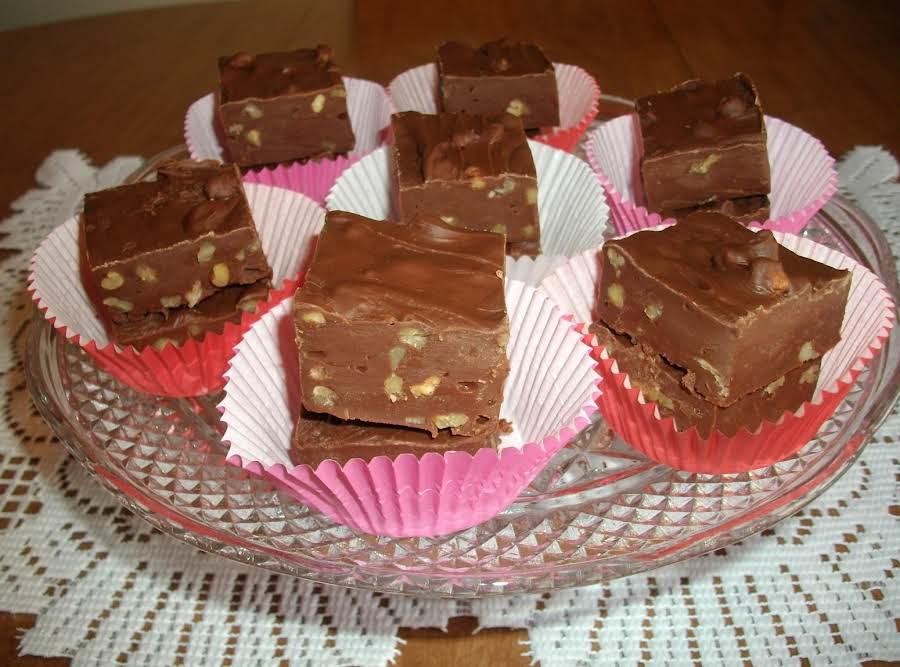 Easy Chocolate Fudge Recipe Just A Pinch Recipes