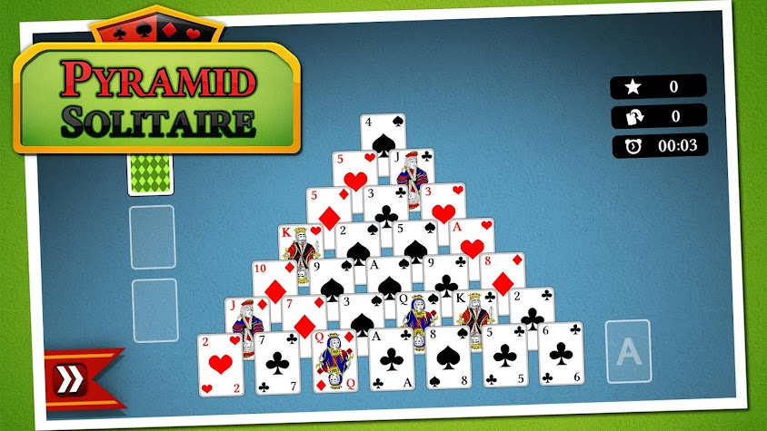 Pyramid Solitaire Screenshot