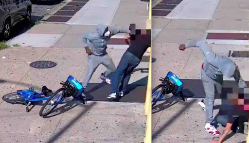 VIDEO: Thug beats 68-year-old man senseless in broad daylight. Police sources say victim refused to hand over property.