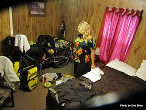 Photo: (Year 3) Day 40 - Our Room in the RV at the Yacht Club