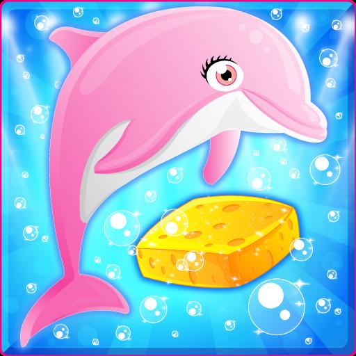 Pregnant Mermaid Dolphin Care 休閒 App LOGO-硬是要APP