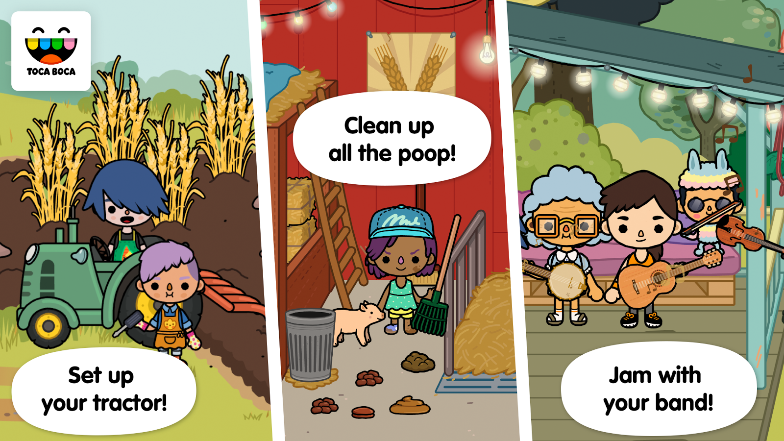 Toca Life: Farm- screenshot
