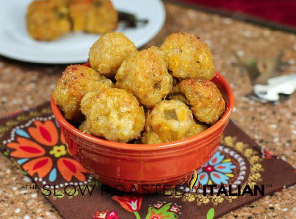 Green Chile & Cheese Sausage Poppers