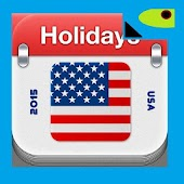 Holidays in US Calendar 2015