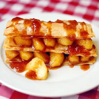 Apple Phyllo Napoleons Recipe
