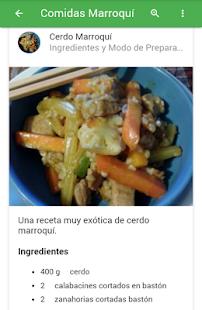 Comida Marroquí - náhled