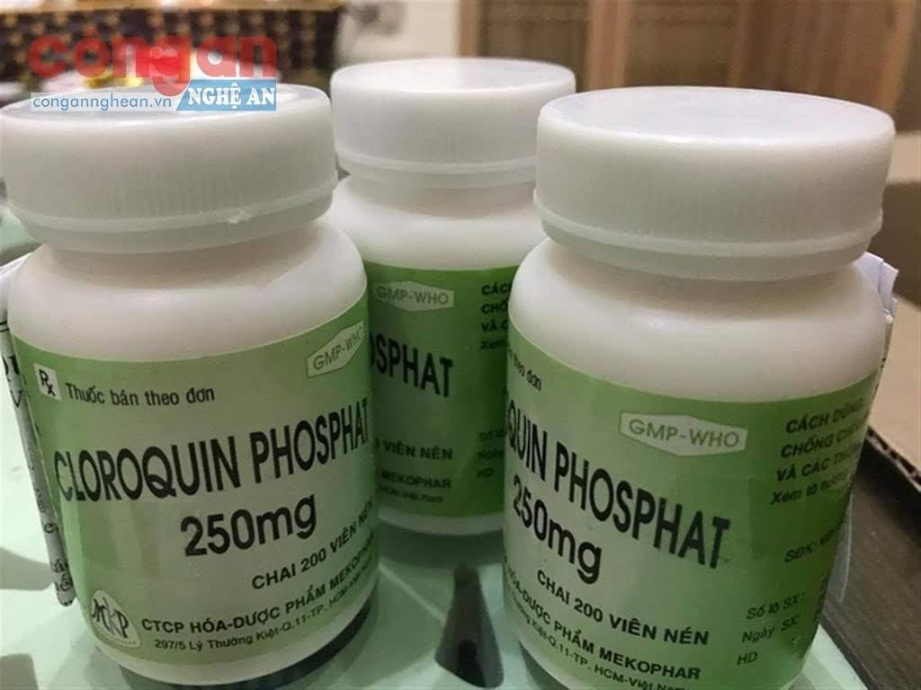 Sử dụng thuốc Cloroquin sẽ vô cùng nguy hiểm nếu không có chỉ định của bác sĩ