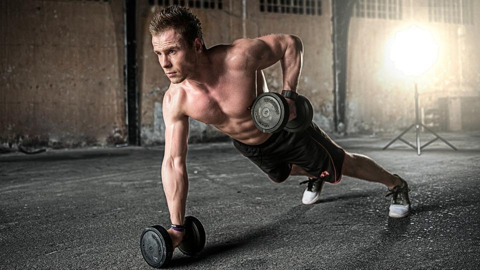 Menschen, Mann, Übung, Fitness, Gesundheit, Fitnessraum