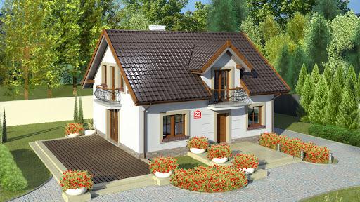 projekt Dom przy Alabastrowej 20