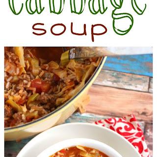 Stuffed Cabbage Soup
