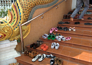 Photo: Shedding shoes before entering a temple. This picture and the rest of the album were shot using the Nexus 5 in HDR+ mode, except for a few GoPro stills and videos as noted.