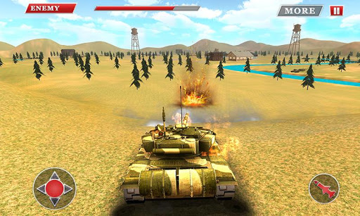 Battle Tanks Russia: Tank War Games APK 1.4 screenshots 1