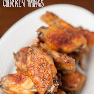 Spicy Ranch Chicken Wings.