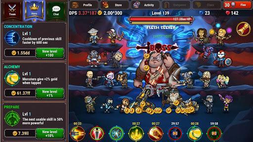 Lords Royale: RPG Clicker 1.0.2 screenshots 1