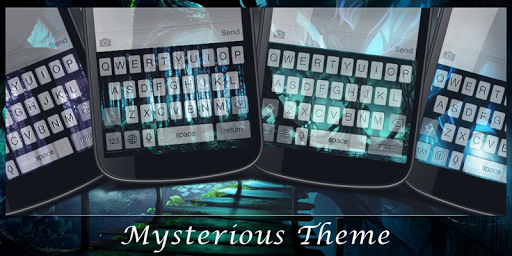 Mysterious Theme-EmojiKeyboard