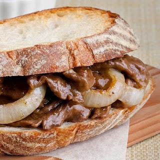 Beef Gravy Sandwich.