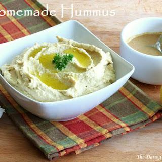 Creamy Hummus with Homemade Tahini Paste