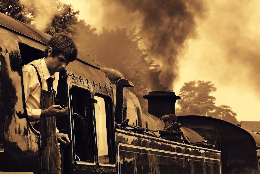 Time  to  go by Gordon Simpson - Transportation Trains