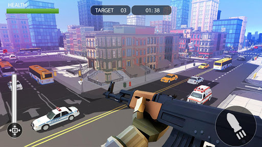 PIXEL SNIPER FORCE GUN ATTACK apkpoly screenshots 1