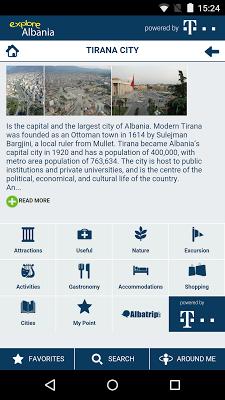 Explore Albania - screenshot