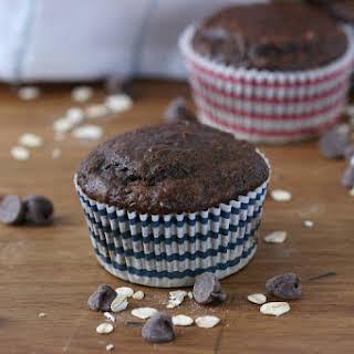 Double Chocolate Yogurt Oat Muffins.