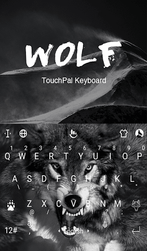 Wild Wolf Keyboard Theme 6.2.22.2019 app download 1