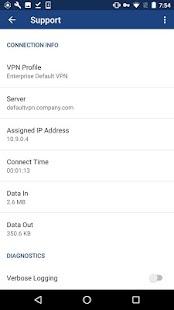 MaaS360 VPN - náhled