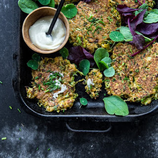 BRUSSELS SPROUTS and ZUCCHINI FRITTERS Recipe