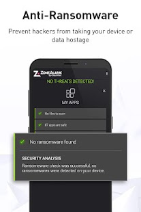 ZoneAlarm Mobile Security Screenshot