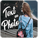 Add text, text pictures, photo text icon