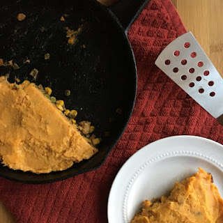 Skillet Sweet Potato Sheppard's Pie
