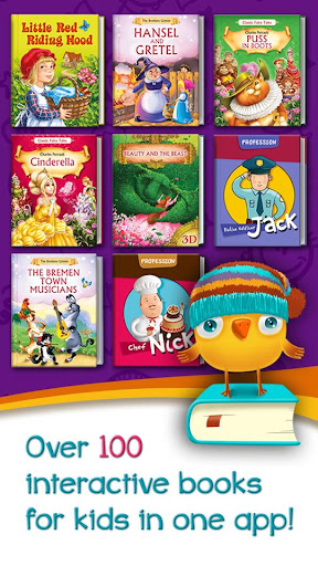 Azbooks - kid's fairy tales, songs, poems & games screenshot 1