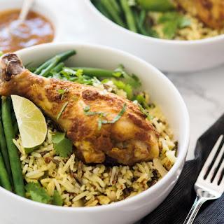 Tandoori Chicken Drumsticks with Mango Chutney Recipe