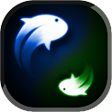 Yin Yang Koi Fish LWP icon