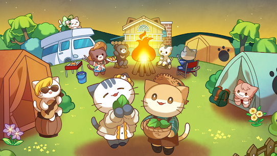 Cat Forest – Healing Camp MOD (Unlimited Money) 1