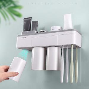 Organizator cu suport magnetic pentru pahare