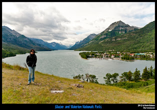 Photo: Waterton National Park: Waterton Lake&Village.