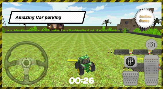 3D-Tractor-Car-Parking 2