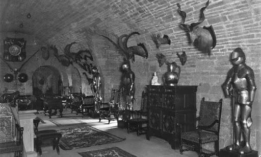 Foto de la camara del castillo glamis donde se presenta mayor actividad paranormal