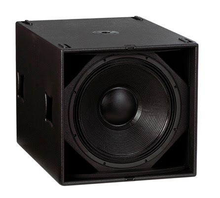 Subwoofer Martin Audio usado en stacks de Ministry of Sound
