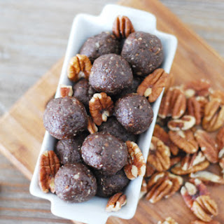 Chocolate Pecan Pie Energy Balls.