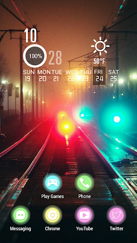 android Colorful and Mysterious Street Screenshot 1